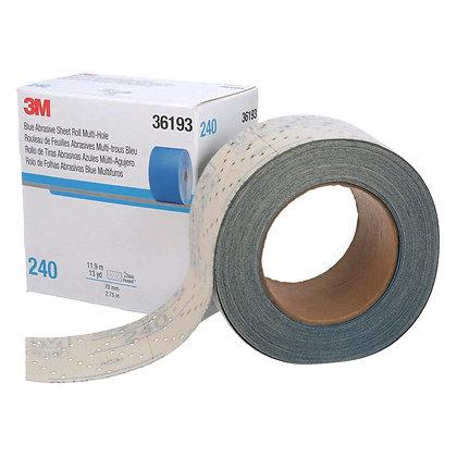 Our 3M™ Hookit™ blue abrasive sheet rolls 321U delivers best in class performanc
