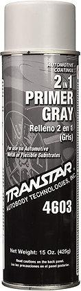 TRANSTAR® 4603 2 in 1 Primer, 20 oz Aerosol Can, Gray