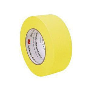 "3M™ 06656 Automotive Refinishing Masking Tape, 2"" Yellow"