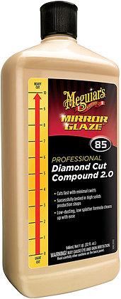 Meguiar's® Mirror Glaze® M8532 Professional Diamond Cut Compound, 32 oz