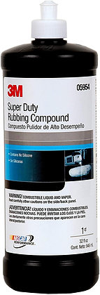 3M™ 05954 Super Duty Rubbing Compound, 1 qt