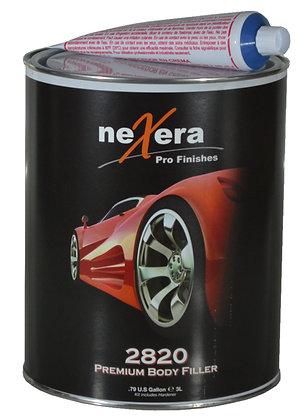neXera Pro Finishes 2820 Premium Body Filler, 1 gal Can