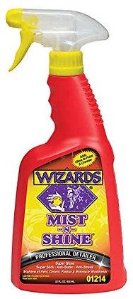 WIZARDS® MIST-N-SHINE® 01214 Professional Detailer, 22 fl-oz