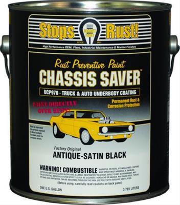 Chassis Saver, Satin Black, Quart