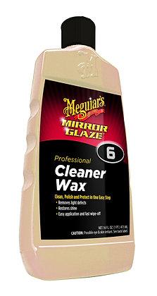 Meguiar's® Mirror Glaze® M0616 Professional Cleaner Wax, 16 oz