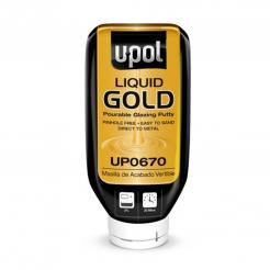 U-POL® GOLD™ UP0670 Pourable Glazing Putty, 615 mL Bottle, Liquid