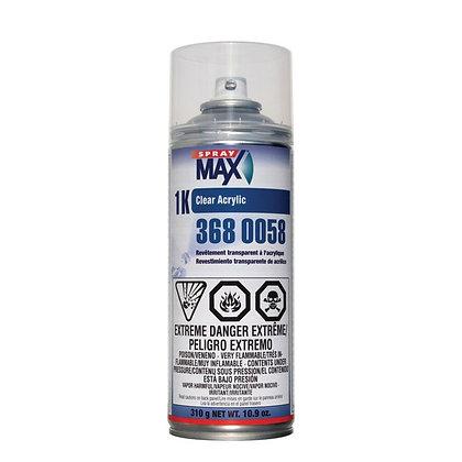 SprayMax® 3680058 1K Clear Acrylic, 10.6 oz