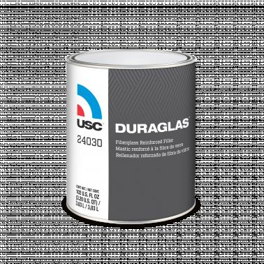 USC® DURAGLAS® 24030 Short Strand Fiberglass Filler, 1 gal Can, Dark Green