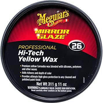 Meguiar's® Mirror Glaze® M2611 Hi-Tech Wax, 11 oz Tin Box
