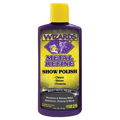 WIZARDS® Metal Refine™ 11025 Show Polish, 8 oz