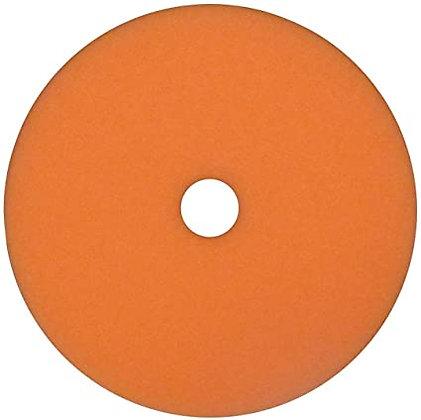 WIZARDS® 11603 Polishing Pad, 6-3/8 in Dia, Foam Pad, Orange