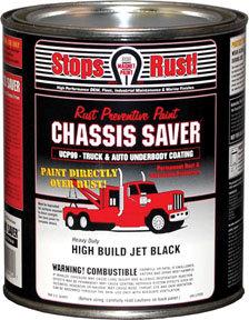 Chassis Saver, Gloss Black, Quart