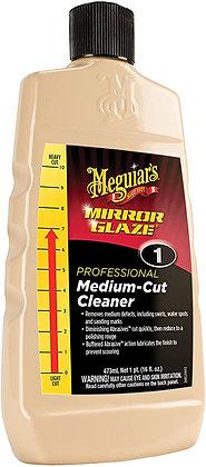 Meguiar's® Mirror Glaze® M0116 Medium-Cut Professional Cleaner Compound, 16 oz