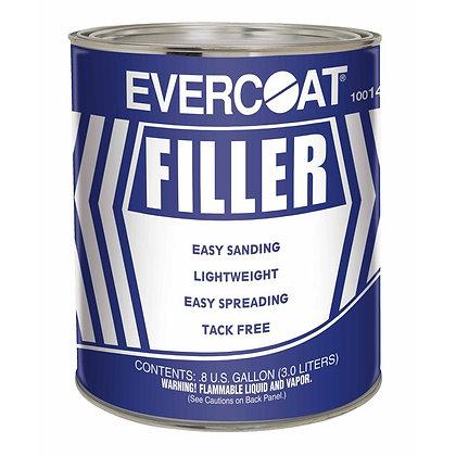 EVERCOAT® 100141 Lightweight Body Filler, 1 gal Can, Pale Yellow