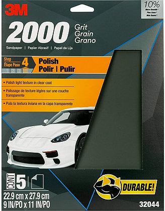 Wetordry™ 32044 Sandpaper, 9 in W x 11 in L, 2000 Grit, Micro Fine Grade, Alumin