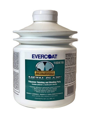 EVERCOAT® METAL GLAZE® 100416 Polyester Finishing and Blending Putty, 30 oz