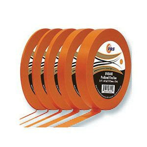 FBS ProBand 48420 Fine Line Medium Masking Tape, 60 yd x 1/4 in, Polymer Backing