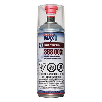 SprayMax® 3680031 Universal 2K Rapid Primer Filler, Gray