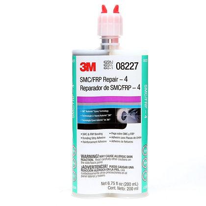 3M™ 08227 2-Part Repair Adhesive, 200 mL Cartridge, Paste, Black/White, 2 hr Cur
