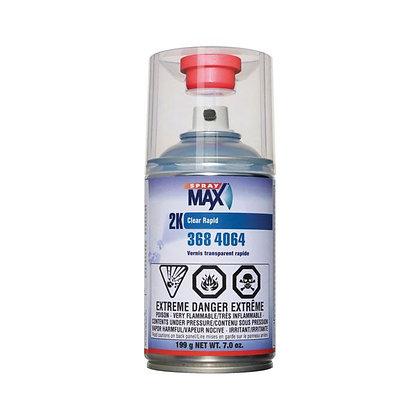SprayMax® 3684064 2K Rapid Clear Coat, 7 oz