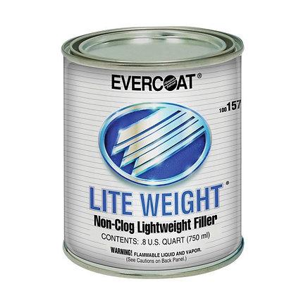 EVERCOAT® LITE WEIGHT® 100157 Professional Lightweight Body Filler, 1 qt Can