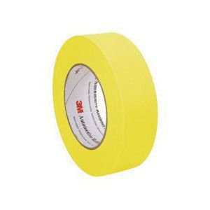 "3M™ 06654 Automotive Refinishing Masking Tape, 1.5"" Yellow"