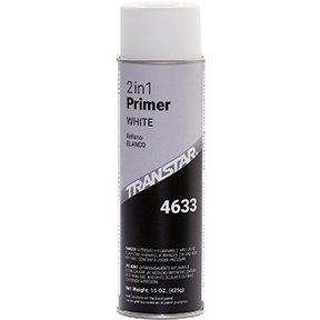TRANSTAR® 4633 2 in 1 Primer, 20 oz Aerosol Can, White