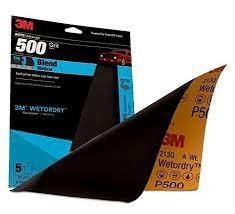 Wetordry™ 32037 Sandpaper, 3-2/3 in W x 11 in L, 600 Grit, Aluminum Oxide Abrasi