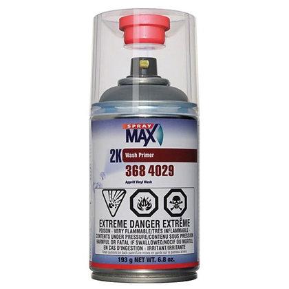 SprayMax® 3684029 2K Wash Primer, 6.8 oz Aerosol Can, Matte Olive Gray