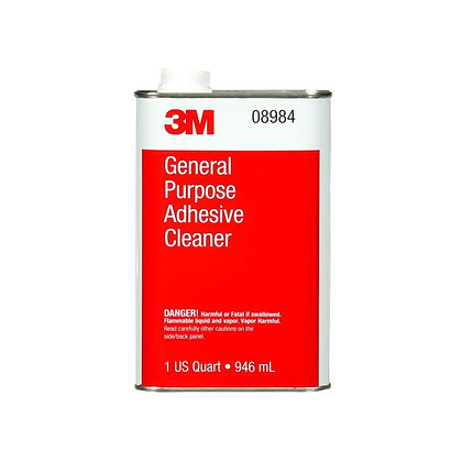 3M™ 08984 General Purpose Adhesive Cleaner, 1 qt Can