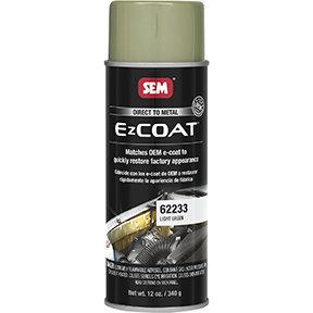 SEM EZ Coat™ 62233 Direct-To-Metal Coating, 16 oz Aerosol, Light Green