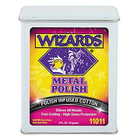 WIZARDS® 11011 Cloth Strip Metal Polish, 3 oz, Pink