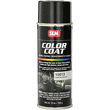 Color Coat™ 15013 Specialty Flexible Coating, 16 oz, Landau Black