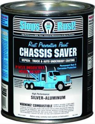 Chassis Saver, Silver Aluminum, Quart