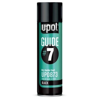 U-POL® GUIDE#7 UP0873 Dry Guide Coat, 12 oz Aerosol Can, Black