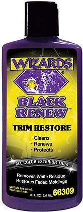 WIZARDS® BLACK RENEW™ 66309 Restores Trim, 8 fl-oz