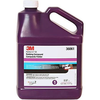 3M Perfect-It™ 36061 EX AC Rubbing Compound, 1 gal