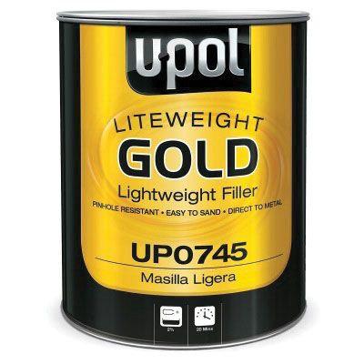 U-POL® GOLD™ UP0745 Lightweight Body Filler, 1 gal Can