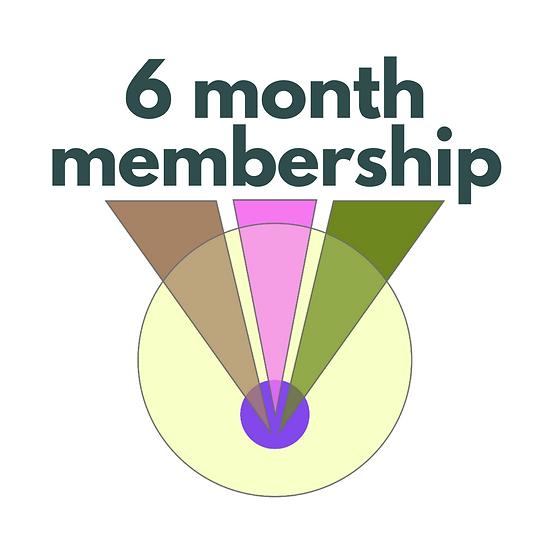6 months of membership