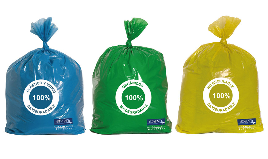 Recyclable trash bags