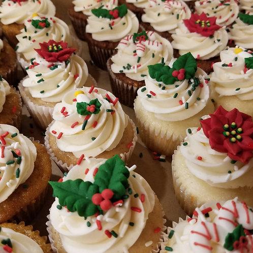 Christmas Cupcake Assortment #2