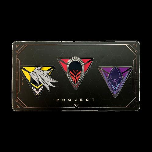LOL - PROJECT: Pin Pack 菁英計劃 別針包
