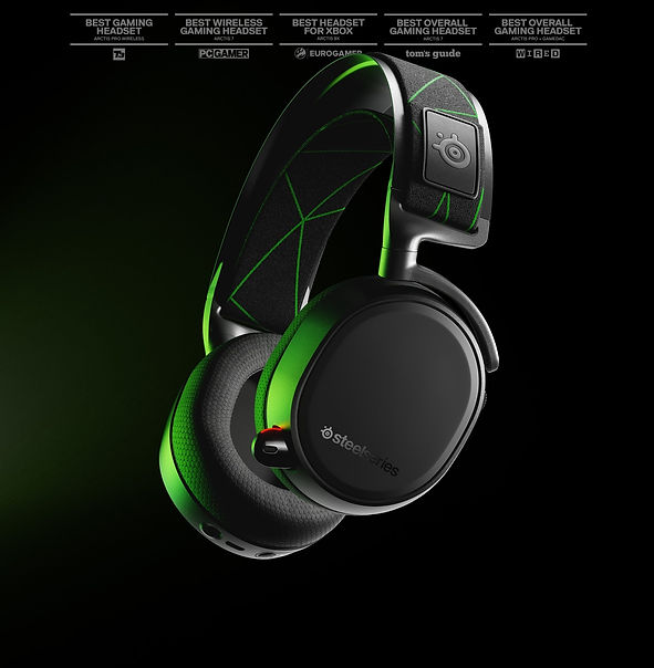 From the makers of the most award-winning headsets in gaming (that's us), the Arctis 9 combines high fidelity lag-free 2.4 GHz wireless gaming audio with Bluetooth wireless for convenient simultaneous audio across your devices. With a Discord-certified mic, signature Arctis sound, and a 20+ hour battery life, on-ear controls, and more, the Arctis 9 is the premier gaming headset for PC and PlayStation (including next-gen). Get yours today.