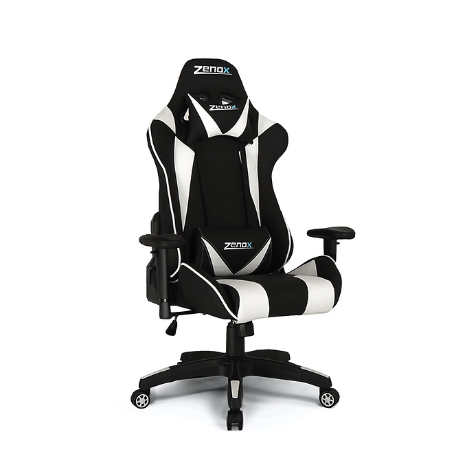 Zenox Saturn Racing Chair (White)