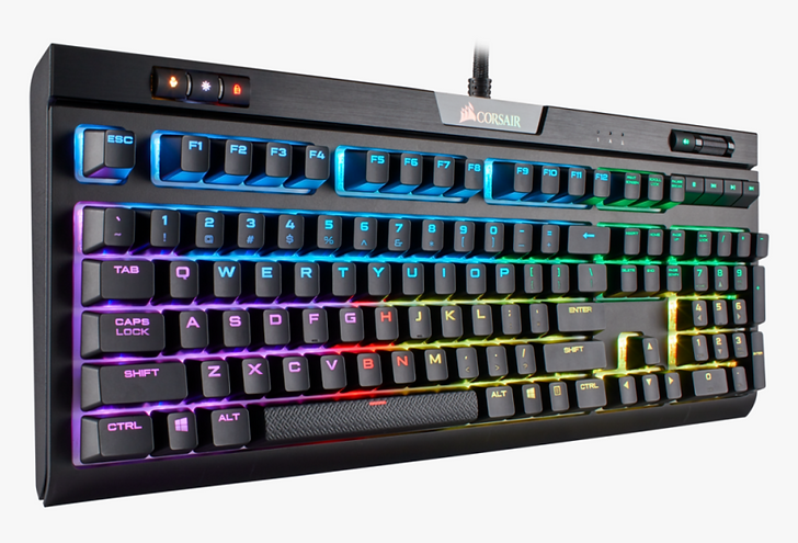 The K70 RGB MK.2 LOW PROFILE RAPIDFIRE Mechanical Gaming Keyboard features new CHERRY MX Speed Low Profile RGB keyswitches, combining the comfort of low profile, low-travel keys with the performance of a mechanical keyswitch. An all-new slim-line design stands just 29mm tall and effortlessly fits into your modern desktop setup, while the aircraft-grade anodized aluminum frame provides the durability to last through a lifetime of gaming in comfort.