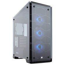 Corsair Crystal Series 570X RGB ATX Mid-Tower Case - Black