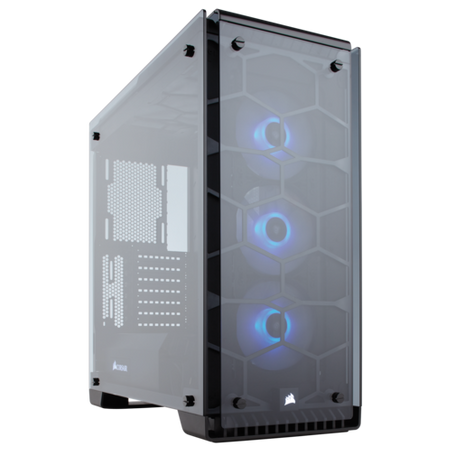 Corsair Crystal Series 570X RGB ATX Mid-Tower Case - Black