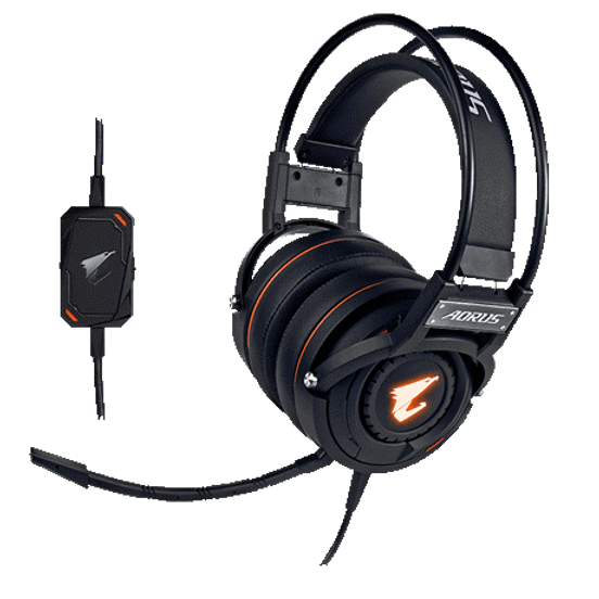 50mm Beryllium metal drivers RGB Fusion 2.0 -16.7M customizable lighting Detachable and Bendable Microphone Wearing comfort for prolonged gaming In-line sound controls