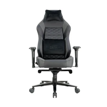 The Spectre Racing Chair, our current flagship model, is the ultimate gaming-office chair. A combination of top-tier perforated Polyurethane (PU) leather and Faux Suede fabric has been used to make this luxurious chair. Complimentary memory foam pillow and lumber support provides superb support to spinal and neck areas, and resilience to deformation after prolonged usage.  Lockable tilt mechanism and 4D armrests provide maximum adjustability to suit different postures. The best seating experience is just a few levers away.