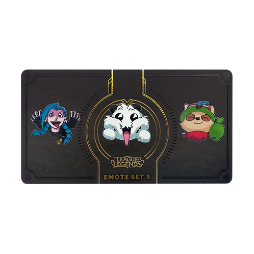 LOL - Emote Pin Pack 03 表情 別針包 03